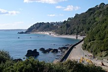 Torquay, Meadfoot Beach, Devon © Tony Atkin